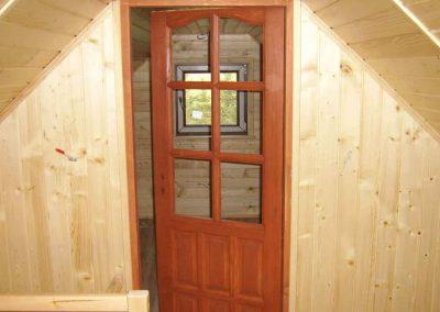domy z drewna radom