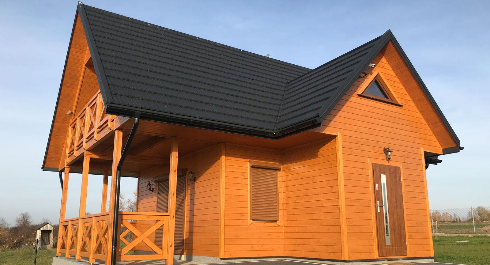 domy drewniane radom